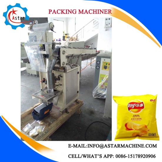 Banana Chips/Cassava Chips Nitrogen Packer Machine pictures & photos