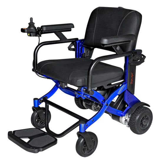 Solax Electric Automatic Folding Wheelchair pictures & photos