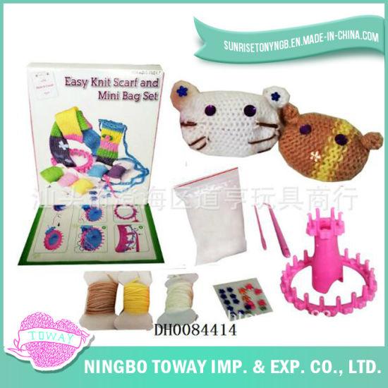 DIY Gift Craft Weaving Hand Knitting Wool Toys