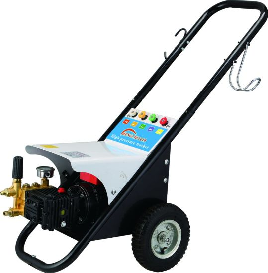 Cold Water Brass Electric High Pressure Washing Machine Copple Car Cleaner with Ce