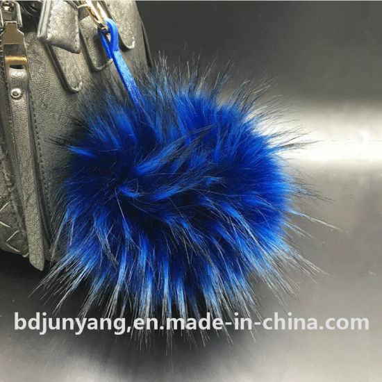 Hot Sale Faux Raccoon Fur Ball POM POM for Knitted Hat pictures & photos