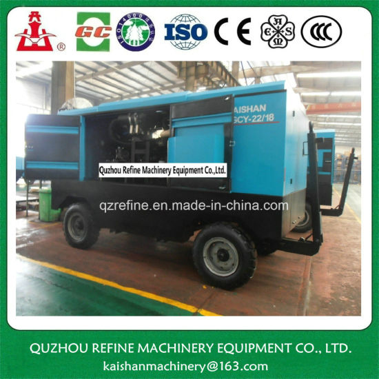 Kaishan LGCY-22/18 Diesel Portable Screw Air Copeland Compressor pictures & photos