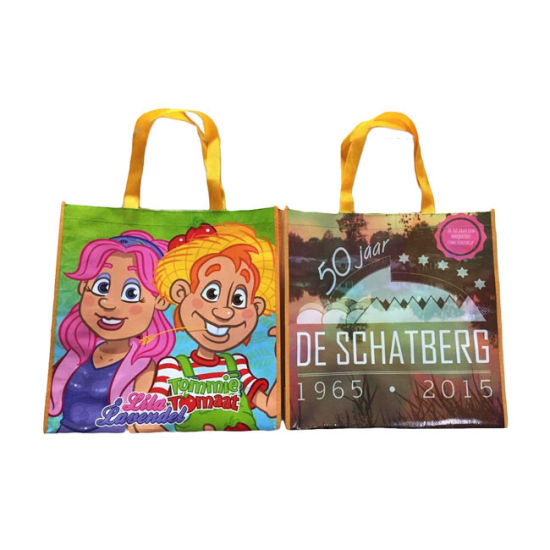 Promotional Plastic Laminated Custom Shopping PP Woven Bag pictures & photos