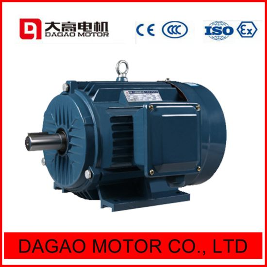 Y2/Y3 /Y 11kw/15HP Three-Phase Asynchronous Squirrel-Cage Cast Iron Induction Electric Motor pictures & photos
