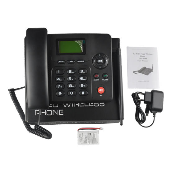 GSM/3G WCDMA/4G FDD-Lte Fixed Wireless Phone (Fixed Telephone)