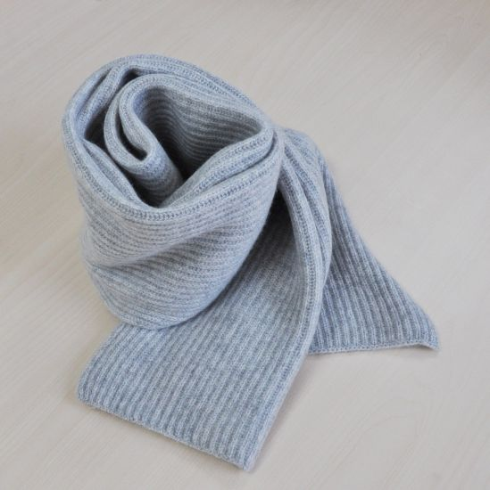 100% Cashmere Shaker Knit Scarf