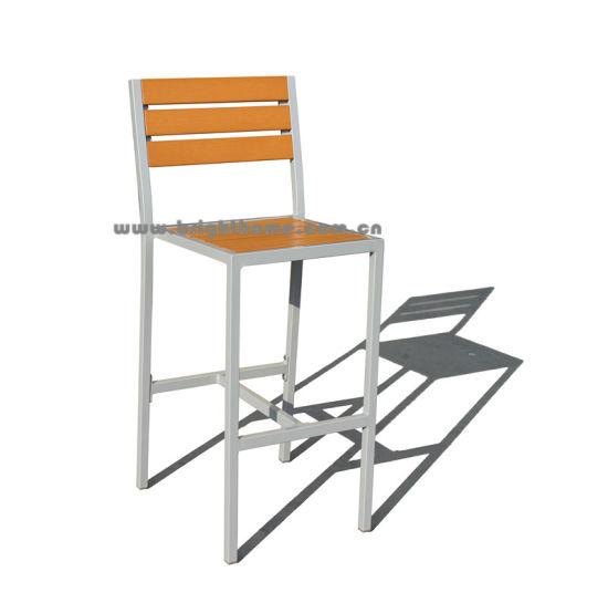 Modern Bar Chair Aluminium Outdoor Furniture