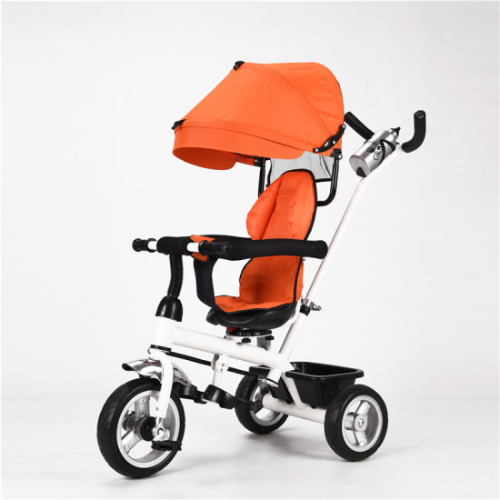 Multi-Function Tricycle with Canopy for Kids