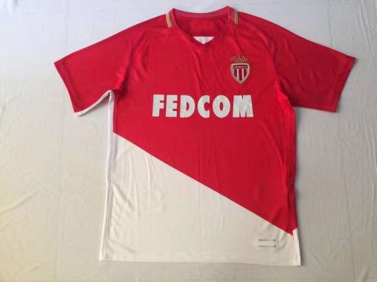 89b69b8c7 China 2017 2018 Monaco Home Soccer Jerseys - China Monaco Home ...