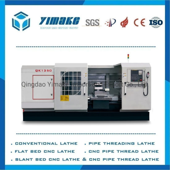 Qk1350 High Quality Factory Supply Heavy Duty CNC Oil Country Lathe Oil Pipe Lathe CNC Pipe Threading Lathe Machine