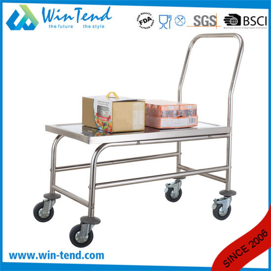 New Designed Strong Multi-Function Hand Push Flat Trolley pictures & photos