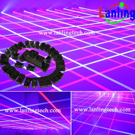 Professional Mobile DJ Laser Curtain Lights