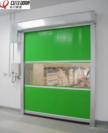 China New Interior Main High Speed Fast Roller Shutter Door pictures & photos