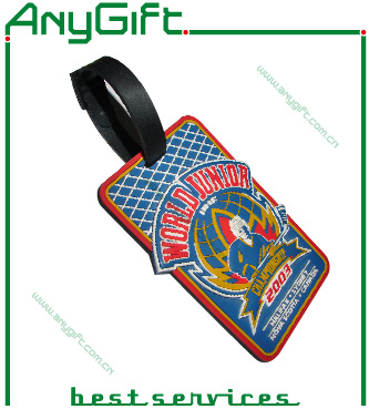 Soft PVC Luggage Tag with Customized Color and Logo (LAG- PLT-09) pictures & photos