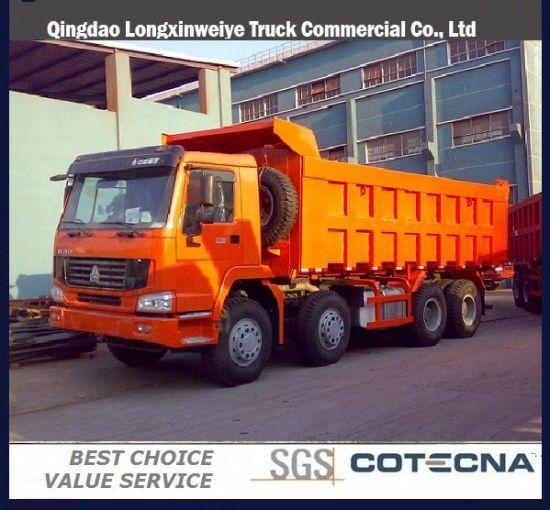 Sinotruk HOWO 12wheels 8X4 Dump Truck