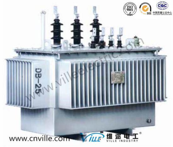 500kVA 10kv Oil Immersed Three Phase Amorphous Alloy Transformer/Distribution Transformer