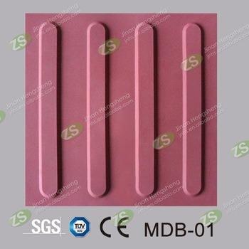Rubber Tile Indicator Paving PVC and TPU Tactile Tile