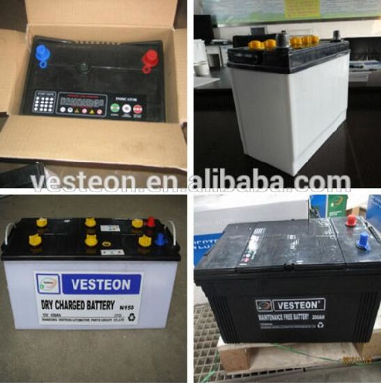 Mf DIN Car Battery 72ah 268X175X175 pictures & photos