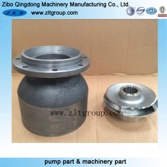 Stainless Steel/Carbon Steel Vertical Turbine Pump Bowl by Sand Casting