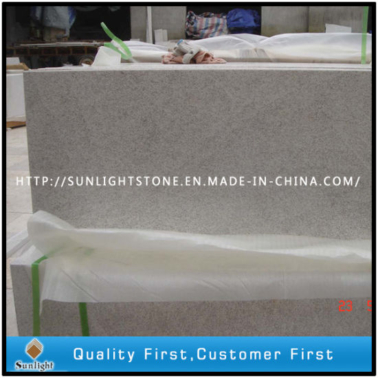 Cheap Chinese Pearl White Granite Stone Floor Tiles For Kitchen