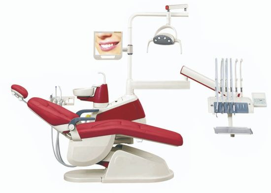 Multi-Functional Pedal Ce&FDA&ISO Approved Dental Chair Dental Chair  Dimensions/Dental Supplies for Sale/Dental Medical Supplies