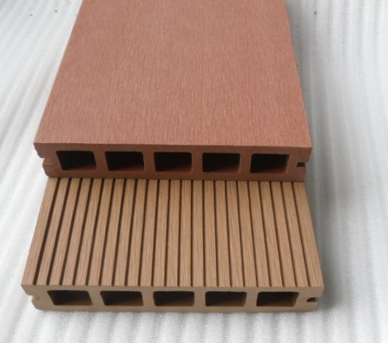Brushing /Embossing /Sanding Surface Ecofriendly Outdoor WPC Composite Decking (145H30-B) pictures & photos