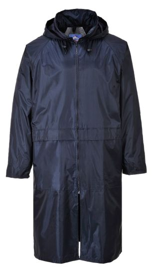 Best Quality Men's Lightweight Fashion Rain Coat Polyurethane Trench Coat