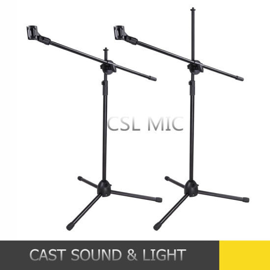 Cheap Microphone Stand Mic Clip 360 Degree Stage Music Stand pictures & photos