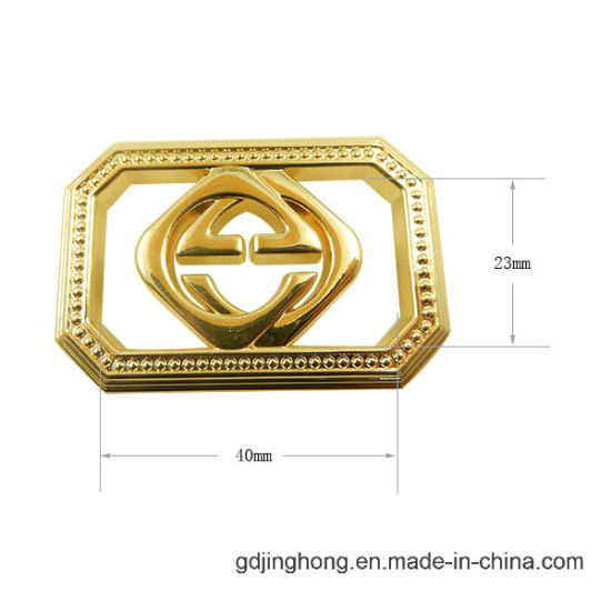 Adhesive Metal Customized Logo Label for Bags