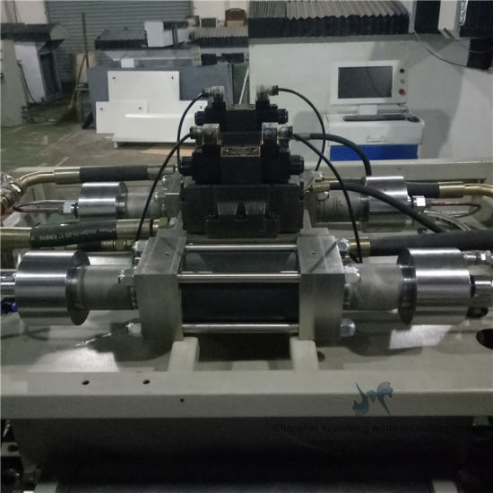 Water Jet Cutting Machine Double-Intensifiers Pump with Best Quality. pictures & photos