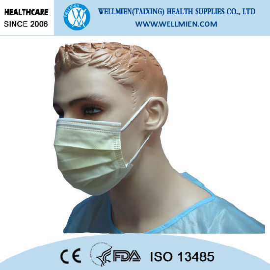 En14683 Face With Surgical Mask