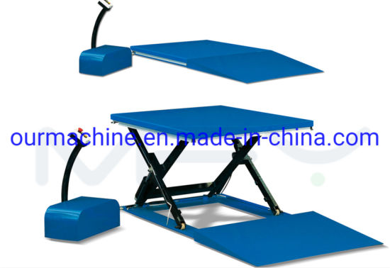 1t-2t Electric Lift Table with CE Certificate Max Height: 870mm
