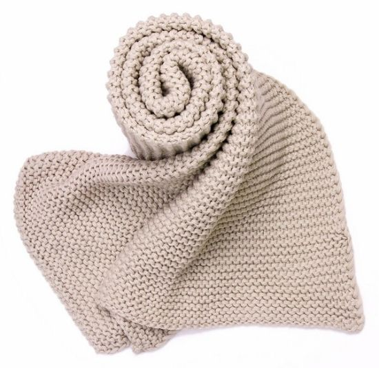 Fashion 100% Acrylic Knitted Knitting Scarf Muffer pictures & photos