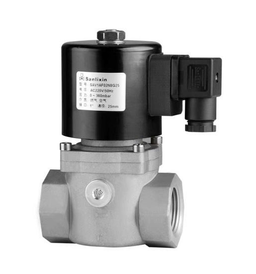 Direct Acting Gas Normally Closed Solenoid Valve