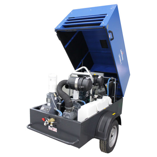 Kubota Diesel Engine Air Compressor for Rock Drill