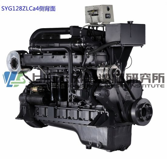 Marine, G128, 260kw, 1500rmp, , Shanghai Diesel Engine for Generator Set,