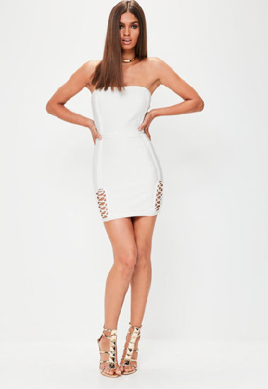 30ff524475c Luxury Strapless Dress White Dress Club Dress Prom Dress Sexy Dress Party  Dresses for Girls