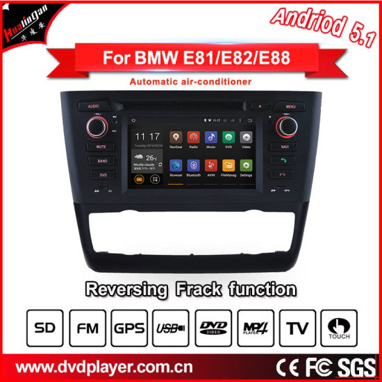 22e4764fd573 Carplay Android Car Radio for BMW 1 (2004-2014) Car with Automatic  Air-Conditioner Only