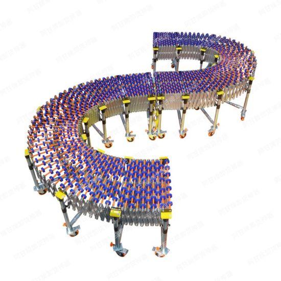 ABS Material Skate Wheel Conveyor for Carton Transfer