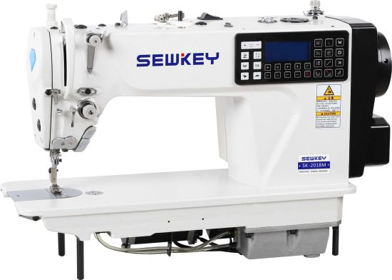 Sk2018m Direct-Drive Multi Functions Smart Computer Lockstitch Industrial Sewing Machine