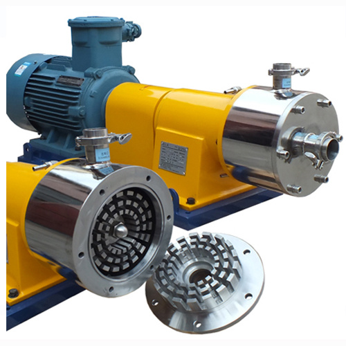Ele Industrial Inline High Shear Homogenizer Pump for Chemical Products