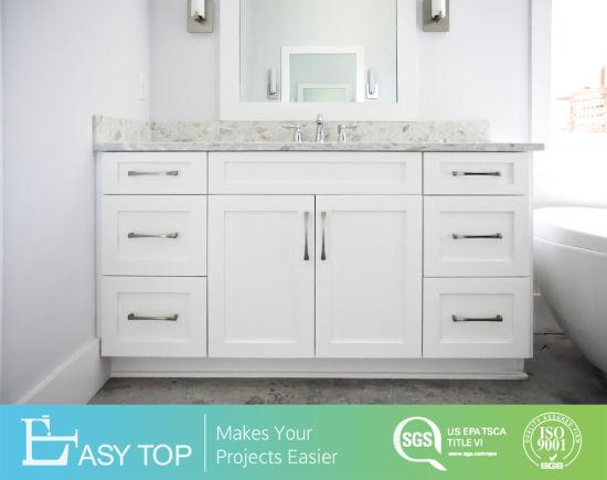 Modern White Shaker Bathroom Vanities
