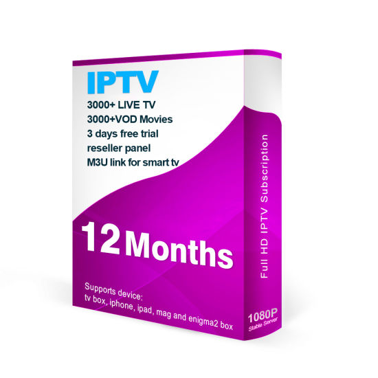 Reseller Panel North America IPTV with 3000+ Live Channels & VOD 3 Days  Free Trial Code