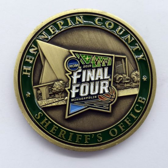 Wholesale Promotional Gift Souvenir Metal Military Challenge Coin