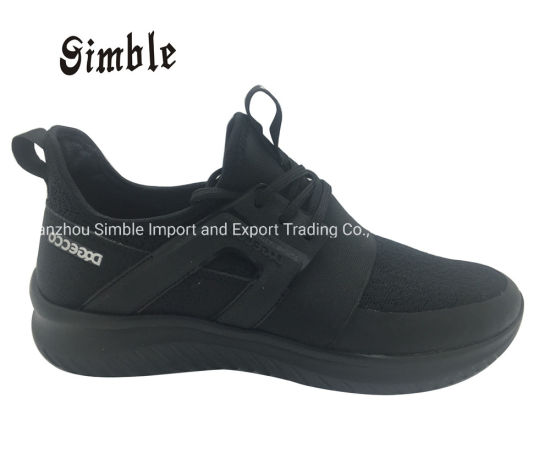 Brand Light Breathable Man Sport Casual Shoes with Flyknit Upper pictures & photos