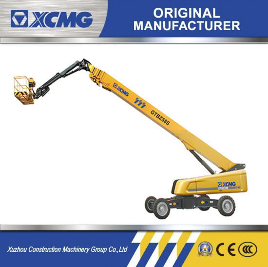 XCMG Gtbz58s Hydraulic Self-Propelled Telescopic Boom Lift 58m Aerial Work Platform Price for Sale pictures & photos