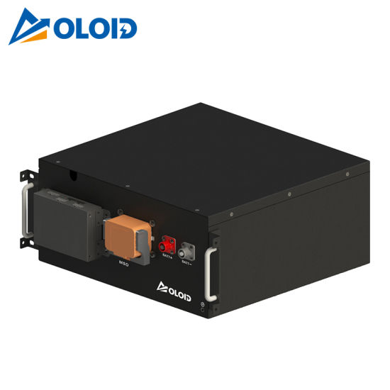 51.2V Solar Li-ion Rechargeable Box LiFePO4 Lithium Battery with BMS