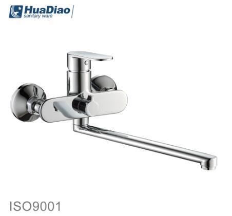 China Long S Spout Wall Mounted Sink Mixer Tap In Kitchen China Sink Tap Sink Kitchen Mixer