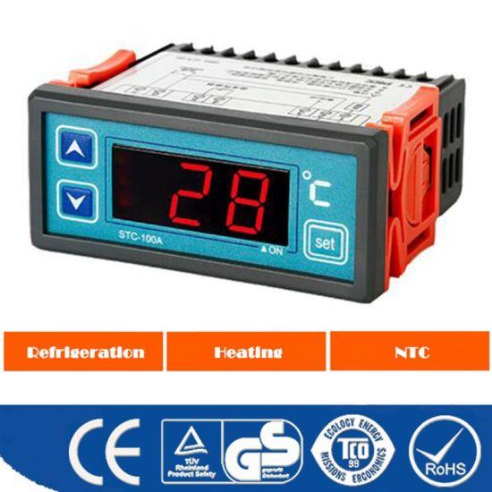 220V Digital Refrigeration Parts Temperature Controller with Sensor
