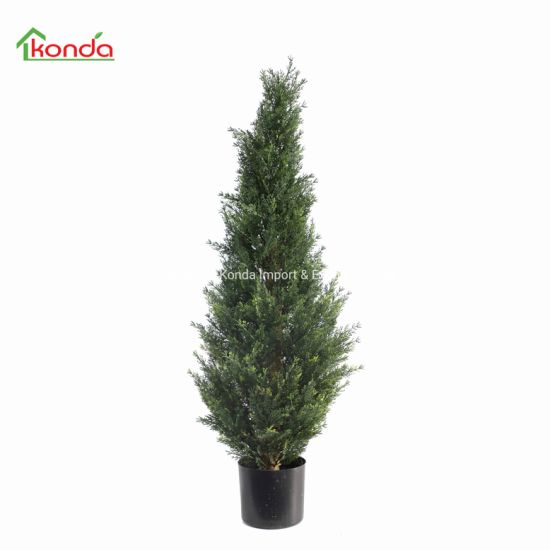 90cm Decoration Garden Feature Topiary Boxwood Spiral Grass Tree in Pot